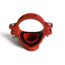Ductile Iron Saddle with Grooved Branch