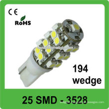 3 years warranty 194 wedge auto led light bulbs