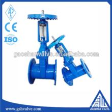 soft sealed rising stem gate valve for steam valve