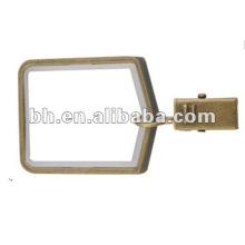Quadratische Metallvorhangösenringe für Hauptdekoration