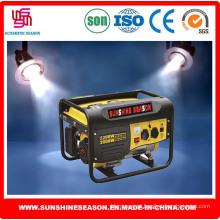 2kw gerador a gasolina para uso doméstico e exterior (sp3000)