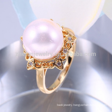 arabic fashion intimate pearl jewelry rings/ jewelry ring set