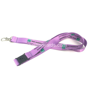 100% Polyester Heat Transfer Factory Direct Lanyard