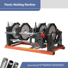 Machine hydraulique de tuyau de soudure de bout de tuyau de tuyau de 63-160mm HDPE pour les tuyaux de PE PP PVDF HDPE de raccordement chaud