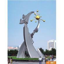 2016 Nueva escultura artística del acero inoxidable del arte de la ciudad del símbolo