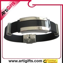 Free samples germanium stainless steel bracelet