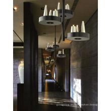 LED moderno hotel decorativo metal pendiente de proyecto de iluminación (MD21166-15)