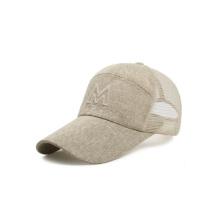 Chapeau de baseball de maille de paille