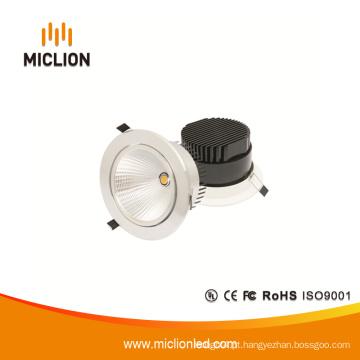 Downlight LED de baixa potência de 15W com Ce