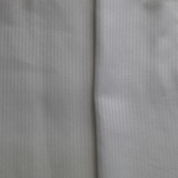 Herring bone Polyester cotton fabric dyed