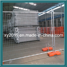 Galvanized Iron Wire Temporary Fence/Garden Wrought Iron Fence/Galvanized Iron Wire Material-PVC Coated Chain Link Fence