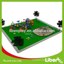 Équipement d'aire de jeux pour enfants avec CE approuvé