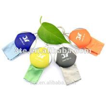 Bolsa de silicona para paño de limpieza de gafas
