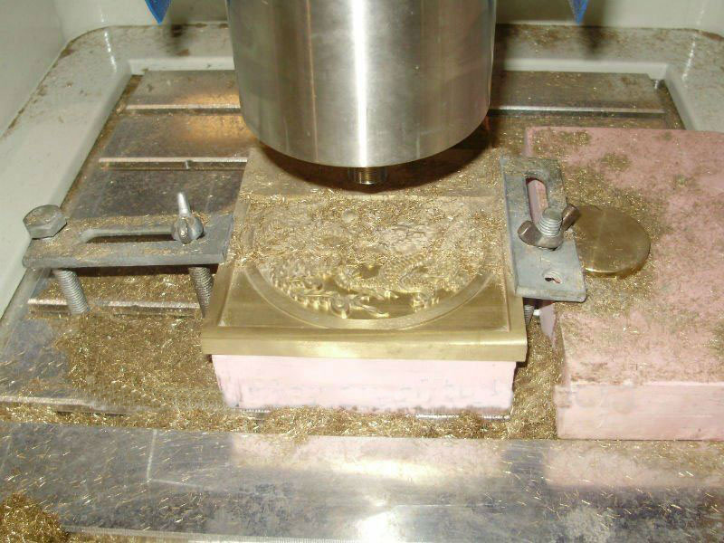 cnc metal mould