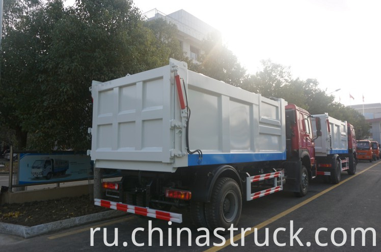 HOWO dumper garbage dust cart