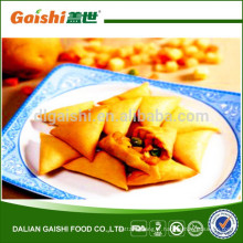 2014 vente chaude de haute qualité halal légumes surgelés samosa