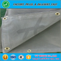 High strength safety net fall protection for construction