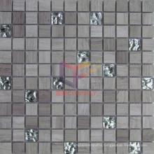 Glass Mix Marble Mosaic (CFS882)