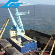 Grúa de la cubierta del portal del descargador del barco
