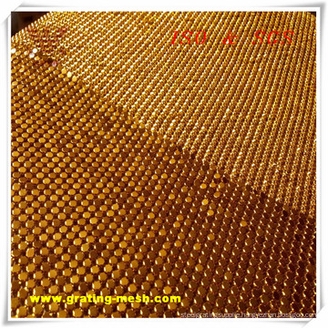 Cheap Decorative Mesh/ Metal Curtain Mesh (ISO)