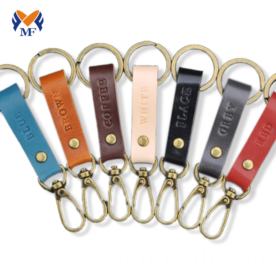 Leather Keychain Online