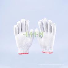 2016 La venta caliente 10gauge 800g hizo punto los guantes de trabajo de los guantes de algodón (K10-B1-7)