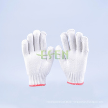 2016 Hot Sale 10gauge 800g Knitted Cotton Gloves Working Gloves (K10-B1-7)