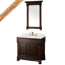 Classical Style Foor Standing Wooden Bathroom Cabinet