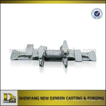 Noyau de fer de noyau de noyau métallique de forgeage et de forgeage haute qualité OEM pour chenilles en caoutchouc
