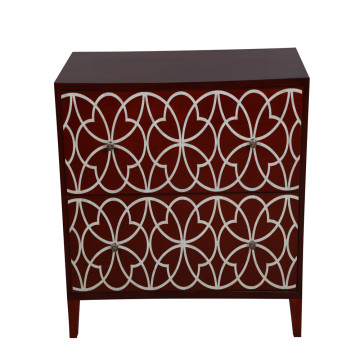 Fast Delivery for Elegant Mother of Pearl Furniture from Professional Artisan CANOSA 2016 Hand carved Chinese fresh water shell inlaid wood Storage Cabinet living room furniture supply to Yemen Suppliers
