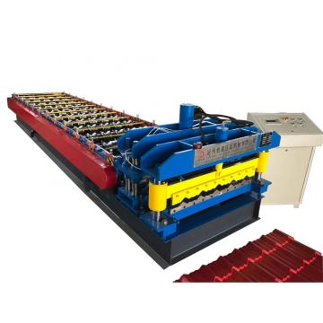 Steel Aluzinc Roof Glazed Roll Forming Machine