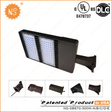 1000W Metal Halide substituição IP65 Outdoor 300W LED Lighting Shoebox