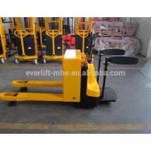 Transpaleta eléctrica con plataforma, transpaletas eléctricas Certificado CE y ISO