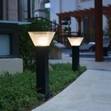 Lampe de jardin solaire de 600 mm de hauteur