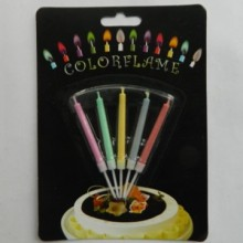 Magic Colored Flame Birthday Cake Candle