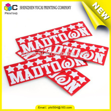 China supplier roll adhesive sticker printing and logo sticker printing