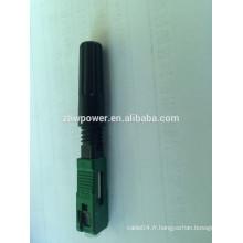 Connecteur rapide fibre optique SC apc 3M, connecteur rapide fibre optique, connecteur rapide fibre optique