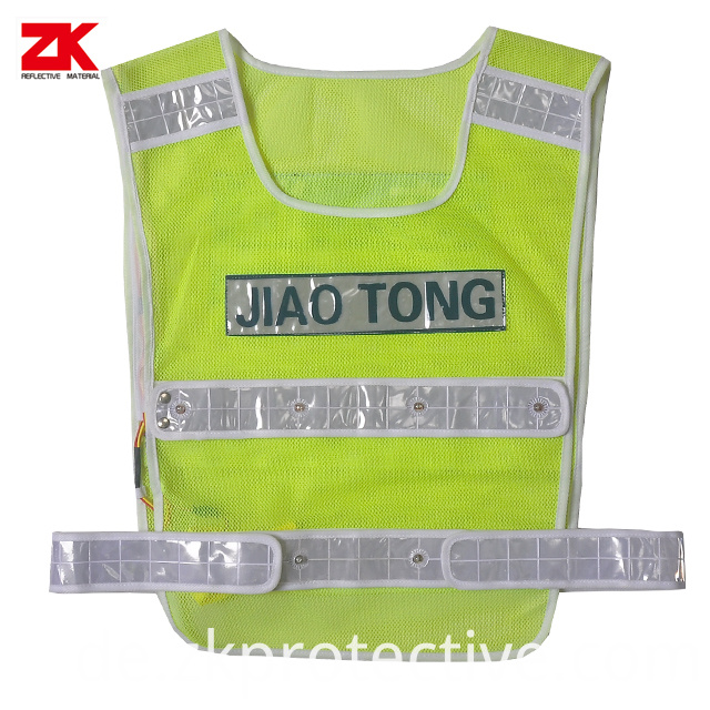Reflective Vest With Led Light