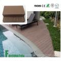 Materiales de construcción al aire libre a prueba de agua Tablero de cubierta compuesto de madera WPC plástico