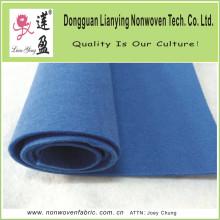 Tissu non tissé en polyester bleu foncé