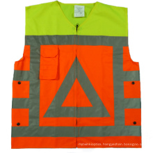 Fashionable Hi-Vis Reflective Safety Clothing with 120GSM Fabric
