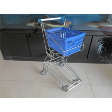 Einkaufswagen, Trolley-Metallkorb-Wagen (YRD-J4)