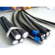 Кабель ABC ASTM Стандартная ПВХ/ПЭ/сшитого полиэтилена с покрытием алюминиевый провод 2 жилы 3 жилы 4 жилы кабель ABC проводника acsr AAAC AAC с голыми