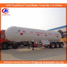 60m3 Cozinhando o tanque de gás Semi-reboque para o tanque da entrega do LPG 30ton