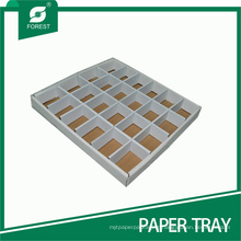 OEM White Corrugated Slice Trays