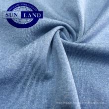 Tissu de tricot en mélange de polyester et 14 élasthanne extensible 86 pour vêtements de yoga