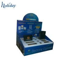 Exposição contrária da mercadoria, exposição contrária do cartão da série, bandejas das partes superiores contrárias PDQ do cartão
