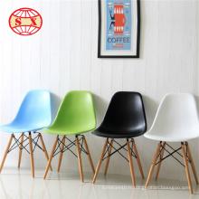 Chaises de chaise en métal en acier et chaise de barber noir et noir