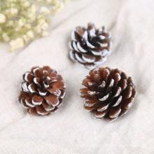 HYYX OEM дизайн кедровые орехи партии украшения стола 2017 новогоднее украшение сделано в Китае