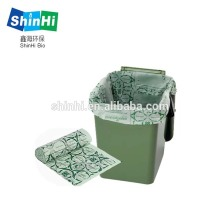 Portable Toilet Replacement Bags 100% Compostable Bags for Portable Toilet Chair,ASTM D6400 and OK Compost Home Certificate